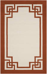 Safavieh Four Seasons Frs461w Off White - Sangria Area Rug