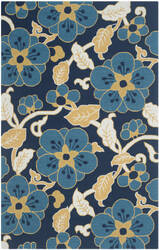 Safavieh Four Seasons Frs492a Navy / Multi Area Rug