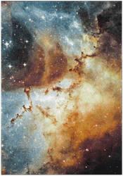 Safavieh Galaxy Gal109d Orange - Multi Area Rug