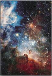 Safavieh Galaxy Gal109p Purple - Multi Area Rug