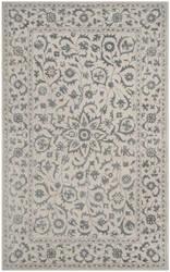 Safavieh Glamour Glm515a Silver - Ivory Area Rug