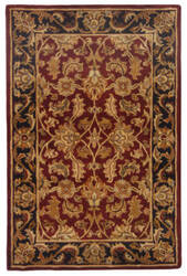 Safavieh Heritage HG628C Red / Black Area Rug