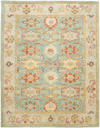 Safavieh Heritage Hg734a Light Blue / Ivory Area Rug