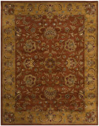 Safavieh Heritage HG820A Red / Natural Area Rug