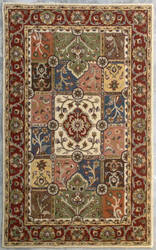 Safavieh Heritage Hg925a Multi / Red Area Rug