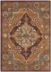 Safavieh Heritage Hg948a Rust Area Rug