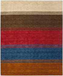 Safavieh Himalaya HIM581A Orange / Multi Area Rug