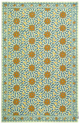 Rugstudio Sample Sale 49897R Ivory / Blue Area Rug