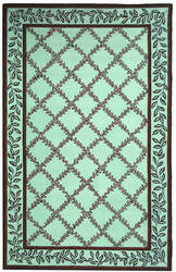 Safavieh Chelsea HK230J Blue / Brown Area Rug