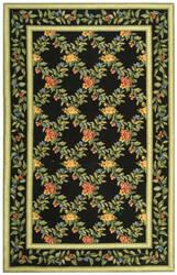 Rugstudio Sample Sale 49987R Black Area Rug