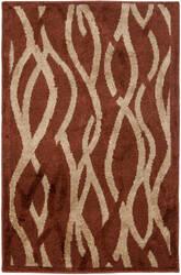 Safavieh Kashmir Kas117b Rust / Ivory Area Rug