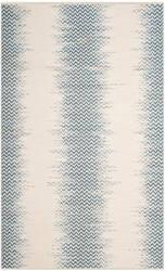 Safavieh Cotton Kilim Klc121a Blue - Ivory Area Rug