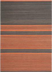 Safavieh Kilim Klm952c Dark Grey / Orange Area Rug