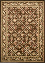 Safavieh Lyndhurst Lnh556 Brown / Brown Area Rug