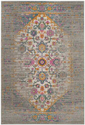 Safavieh Madison Mad122g Light Grey - Fuchsia Area Rug