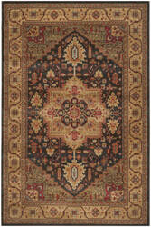 Safavieh Mahal Mah656e Navy - Natural Area Rug