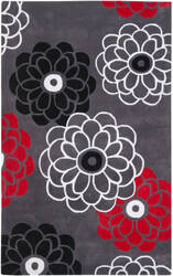 Safavieh Modern Art Mda620a Dark Grey / Multi Area Rug
