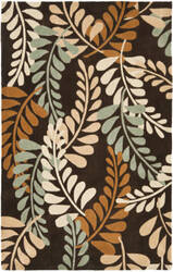 Safavieh Modern Art Mda625a Brown / Multi Area Rug