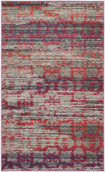 Safavieh Monaco Mnc217g Grey - Multi Area Rug