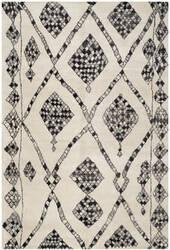 Safavieh Moroccan Mor553a Ivory / Black Area Rug