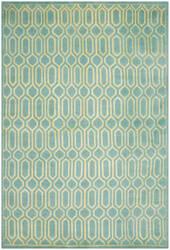 Safavieh Mosaic Mos150a Aqua / Light Gold Area Rug