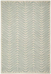 Martha Stewart By Safavieh Msr3612 Chevron Leaves C Area Rug