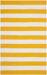 Safavieh Montauk Mtk712a Yellow / White Area Rug