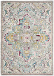 Safavieh Mystique Mys921l Grey - Light Blue Area Rug