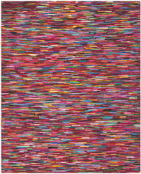 Safavieh Nantucket NAN142A Pink / Multi Area Rug