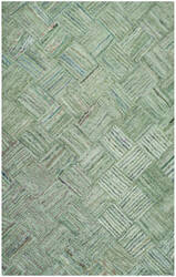 Safavieh Nantucket Nan316a Green / Multi Area Rug