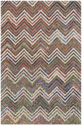 Safavieh Nantucket Nan601b Beige - Grey Area Rug
