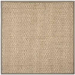 Safavieh Natural Fiber Nf114p Natural / Grey Area Rug