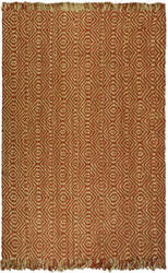 Safavieh Natural Fiber NF445A Rust Area Rug