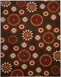 Safavieh Newbury Nwb8727 Brown / Red Area Rug