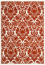 Safavieh Porcello Prl3714e Red / Ivory Area Rug