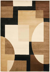Safavieh Porcello Prl6844 Black / Multi Area Rug