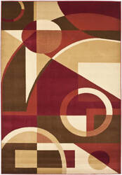 Safavieh Porcello Prl6845 Red / Multi Area Rug