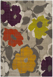 Safavieh Porcello Prl7726c Grey / Yellow Area Rug