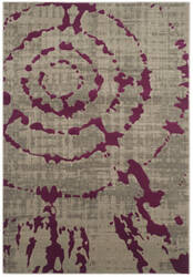 Safavieh Porcello Prl7735b Light Grey - Purple Area Rug