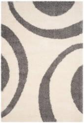 Safavieh Portofino Shag Pts213a Ivory - Grey Area Rug