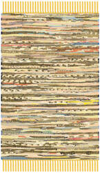 Safavieh Rag Rug Rar121h Yellow / Multi Area Rug