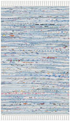 Safavieh Rag Rug Rar125a Light Blue - Multi Area Rug