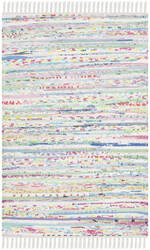 Safavieh Rag Rug Rar125d Light Green - Multi Area Rug
