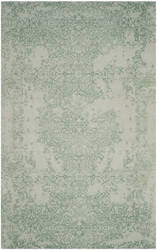 Safavieh Restoration Vintage Rvt105c Grey - Turquoise Area Rug