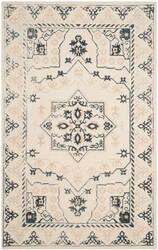 Safavieh Restoration Vintage Rvt424a Ivory - Charcoal Area Rug