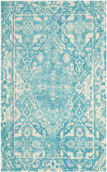 Safavieh Restoration Vintage Rvt532c Light Blue - Ivory Area Rug