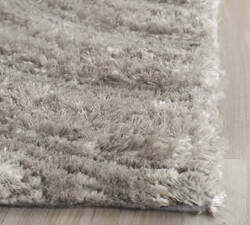 Safavieh South Beach Shag Sbs620b Silver Area Rug