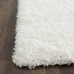 Safavieh California Shag Sg151-1010 White Area Rug