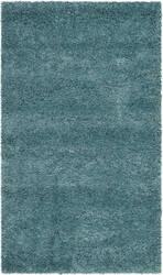 Safavieh Milan Shag Sg180-6060 Aqua Blue Area Rug