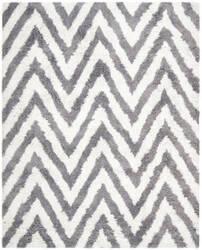 Safavieh Shag SG250C Ivory / Grey Area Rug